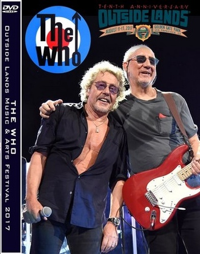 The Who - Outside Lands, San Francisco 2017 (2019, DVD9)