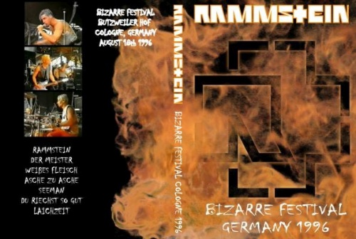 Rammstein - Bizarre Festival 1996 (2009, DVD5)