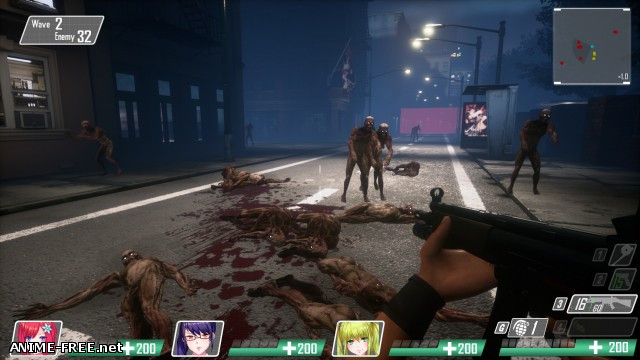 Seed Of The Dead [2018] [Cen] [Action, 3D, Shooter] [ENG,JAP] H-Game