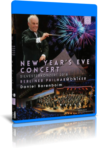 New Year's Eve Concert - Silvesterkonzert 2018 (2019, Blu-ray)