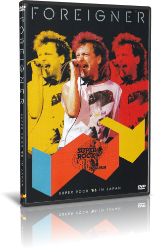 Foreigner - Super Rock '85 Festival (2019, DVD5)