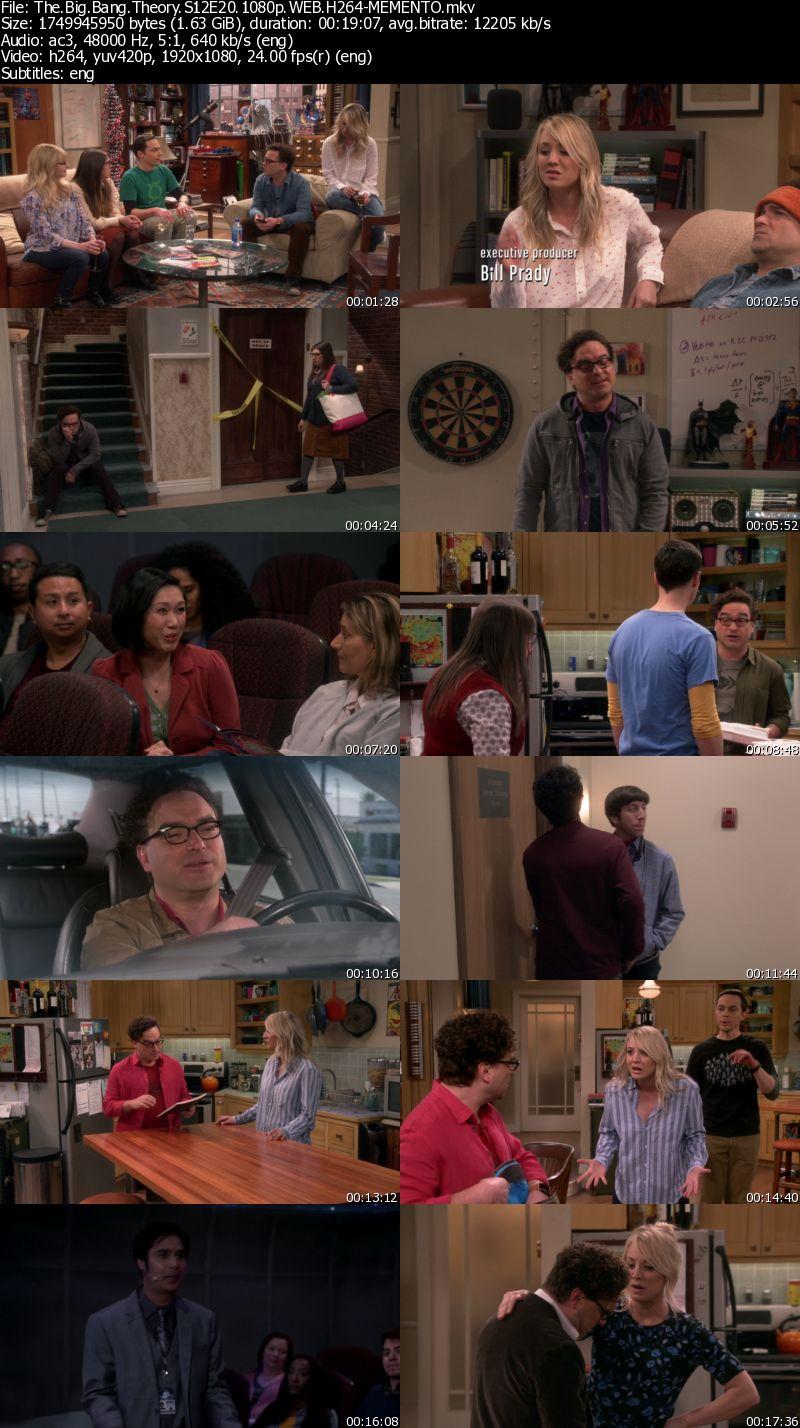 The Big Bang Theory S12E20 1080p WEB AC3 H264-MEMENTO