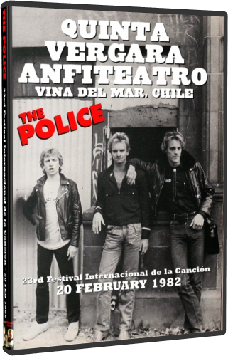 The Police - Vina del Mar 1982 (2014, DVD5)