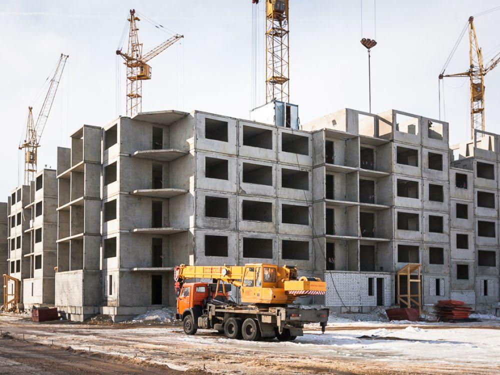 Строительство многоэтажного дома с использованием арматуры А3