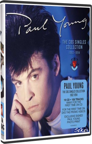 Paul Young - The CBS Singles Collection 1982-1994 (2019, DVD9)