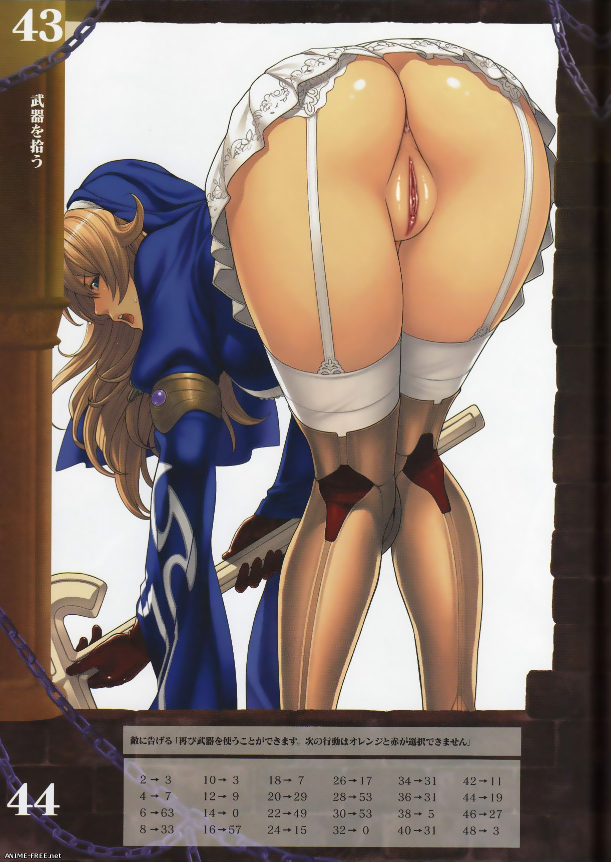 Queen's Blade ArtBook (Collection) - Сборник хентай арта [Ptcen] [JPG,PNG] Hentai ART