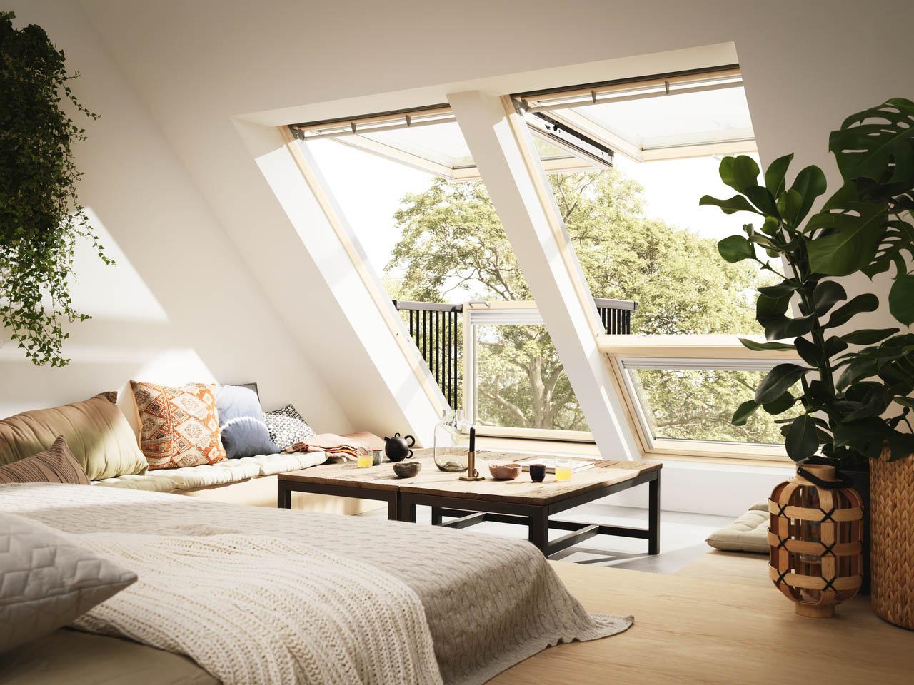 Стандартные мансардные окна