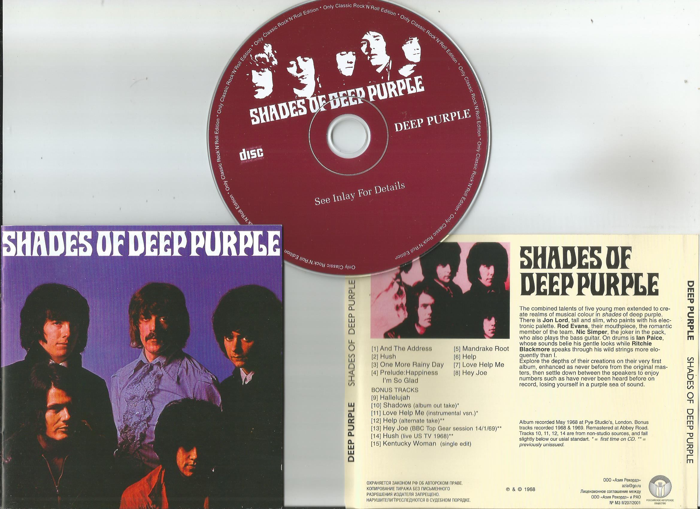 Shades Of Deep Purple 16page Booklet With Lyrics By Deep Purple Cd With Apexmusic Ref 1278778800,Best White Paint Colors For Walls