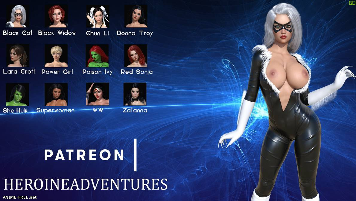 Heroine Adventures The Game [2019] [Uncen] [ADV, 3DCG, Animation] [Android Compatible] [ENG] H-Game