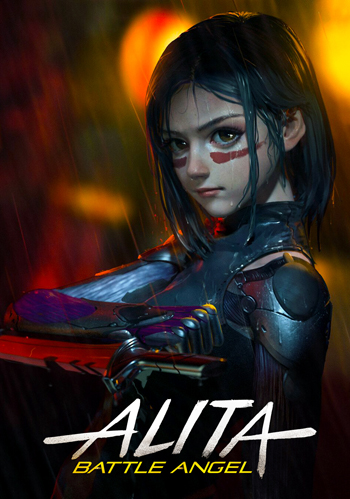 Алита Боевой ангел / Alita: Battle Angel (2019) BDRip 1080p от Generalfilm [Лицензия]