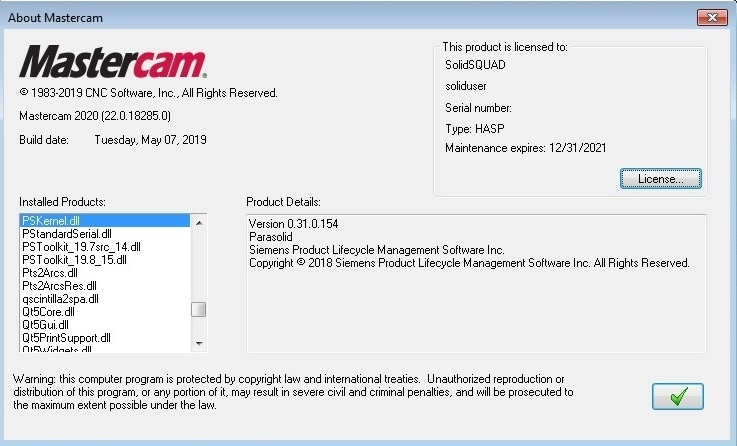 ARmedia Support Forums • View topic - Mastercam 2020 v22