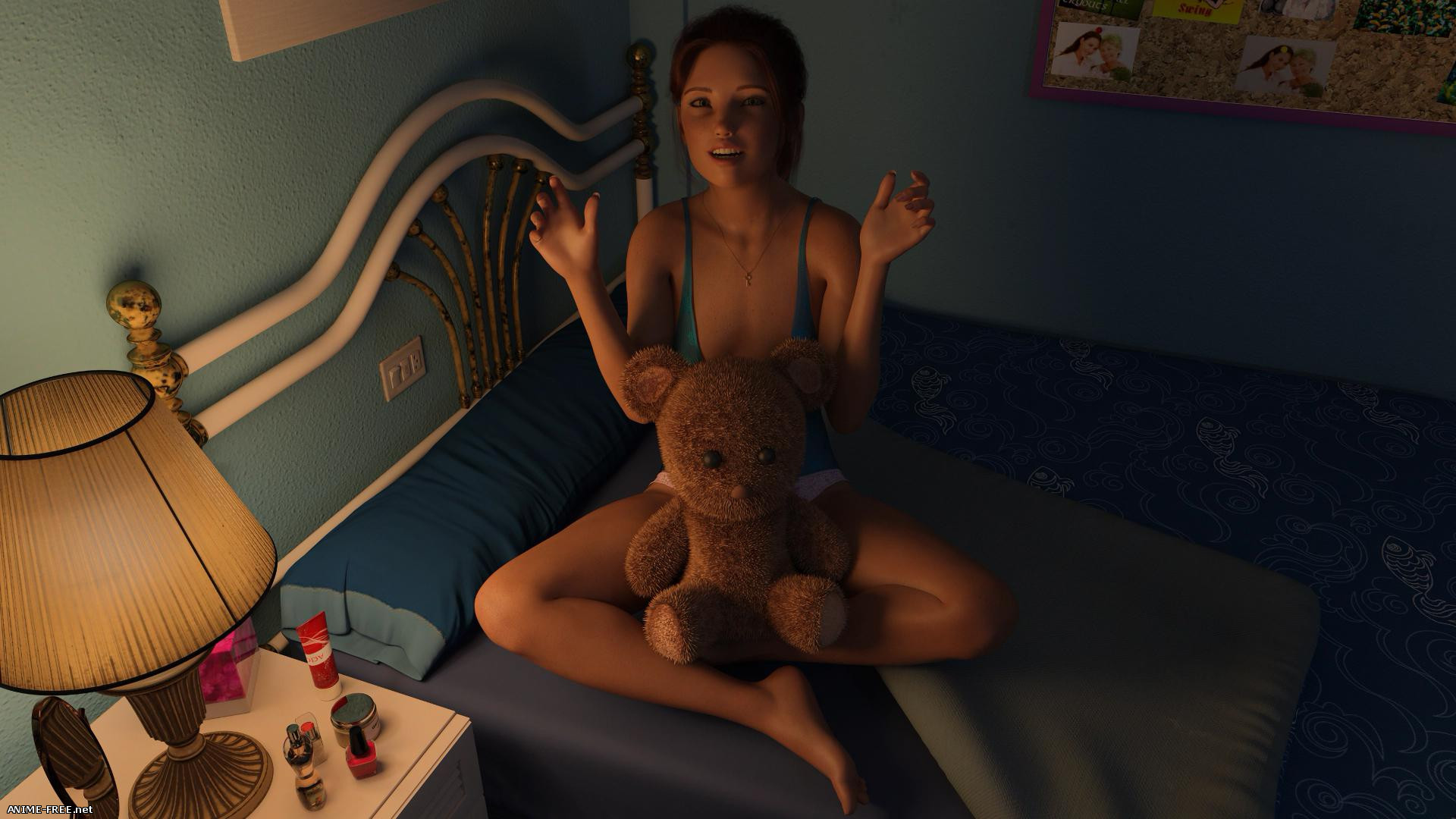 Halfway House / Дом на полпути [2019] [Uncen] [ADV, 3DCG] [Android Compatible] [ENG,RUS] H-Game