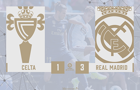 R.C. Celta de Vigo - Real Madrid C.F. 1:3