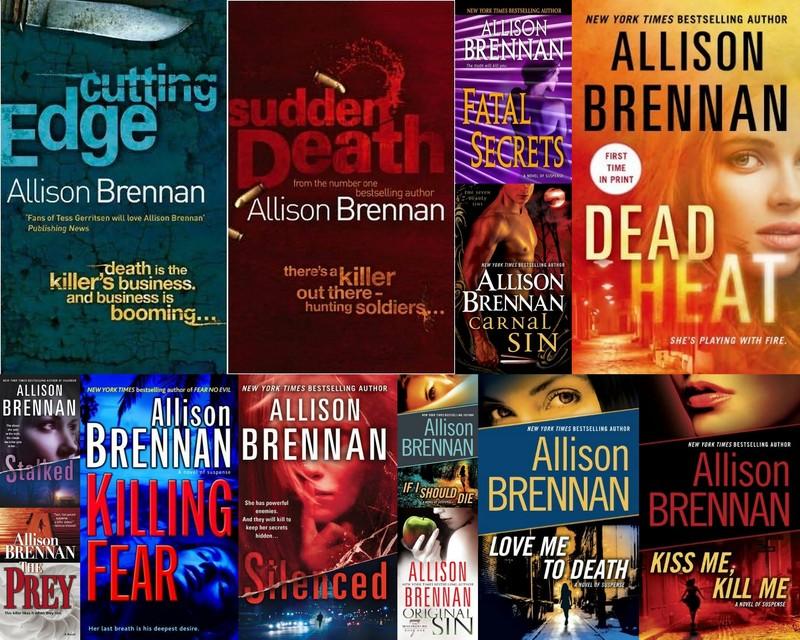 Allison Brennan - Collection
