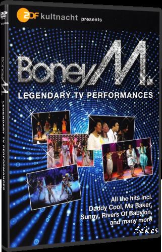 Boney M  - Legendary TV Performances (2011, DVD9)
