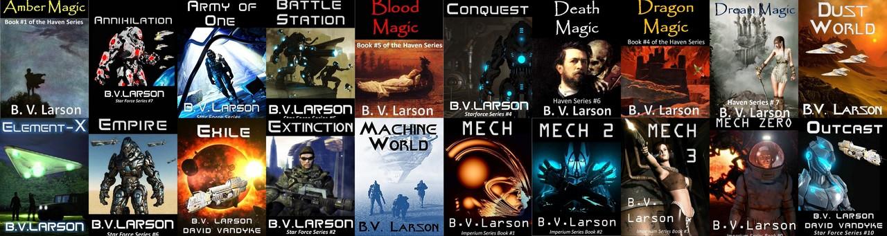 B.V. Larson - Collection