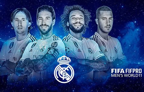 "4 представителя ""Мадрида"" попали в команду года ФИФА"