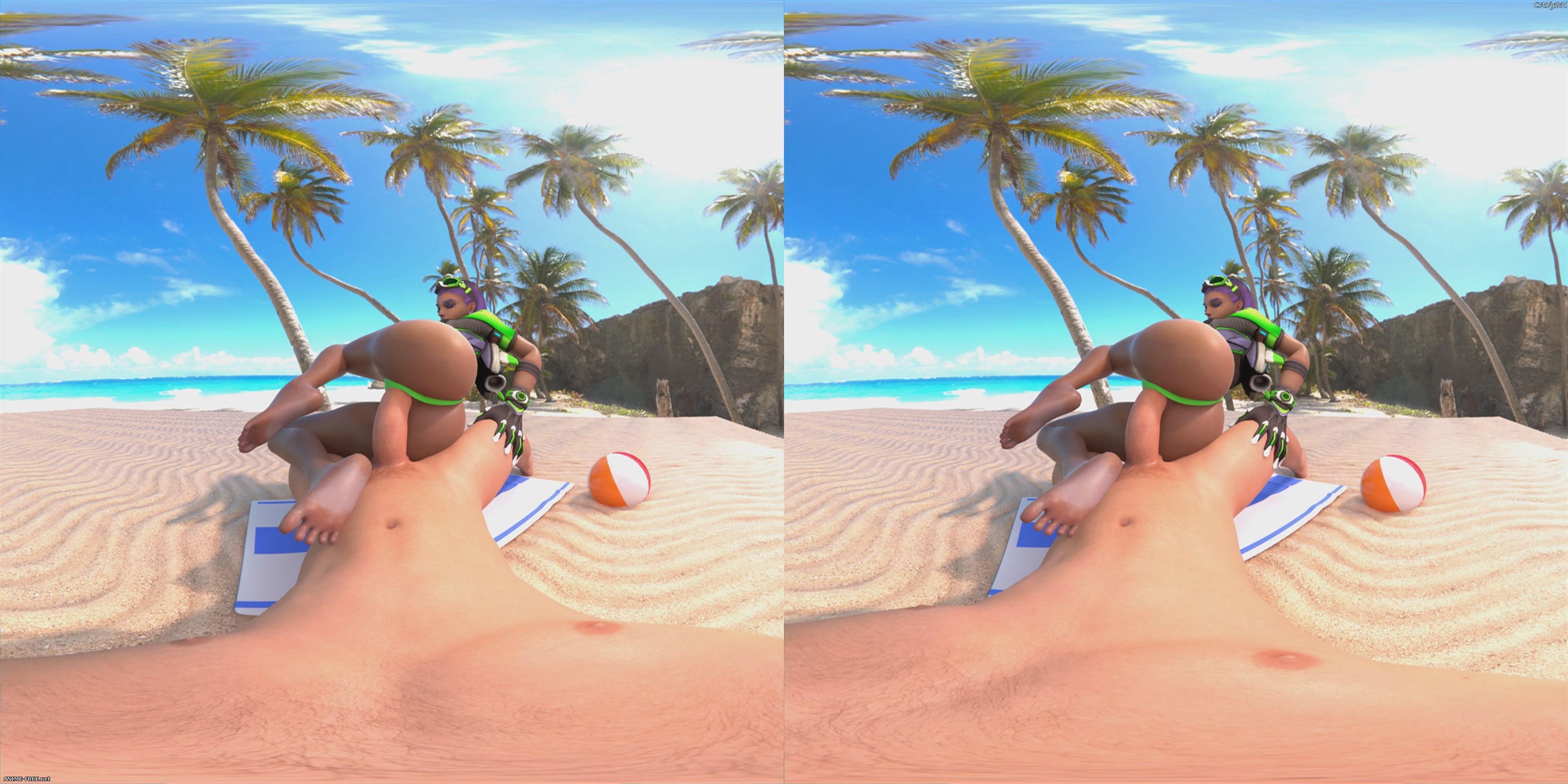 Hentai VR - Overwatch Pack [2019] [Uncen] [UHD-4K] [ENG] 3D-Hentai