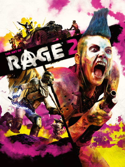 id Software, Avalanche Studios | Артбук по игре Rage 2 / The Art of Rage 2 (2019) [CBZ] [EN]