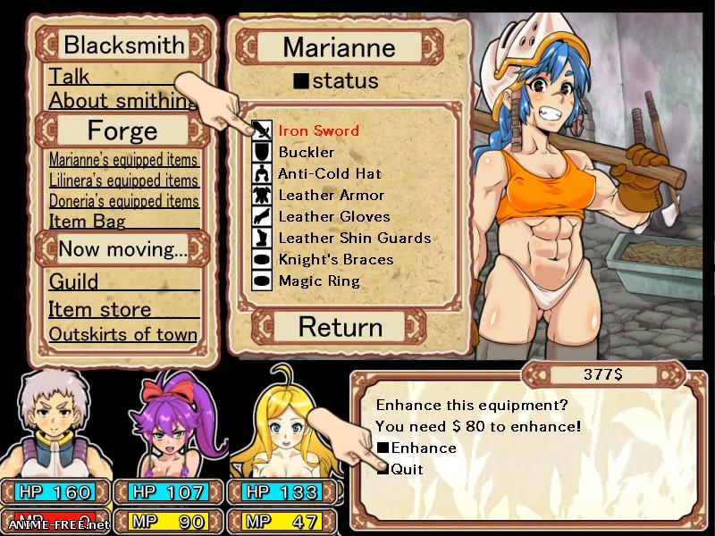 Dungeon of erotic master [2018] [Cen] [jRPG, DOT/Pixel, Animation] [JAP,ENG] H-Game