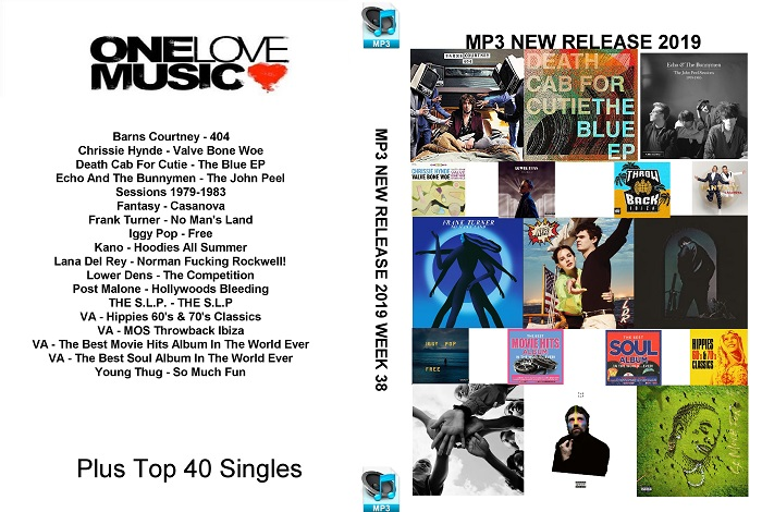 MP3 NEW RELEASES 2019 WEEK 38