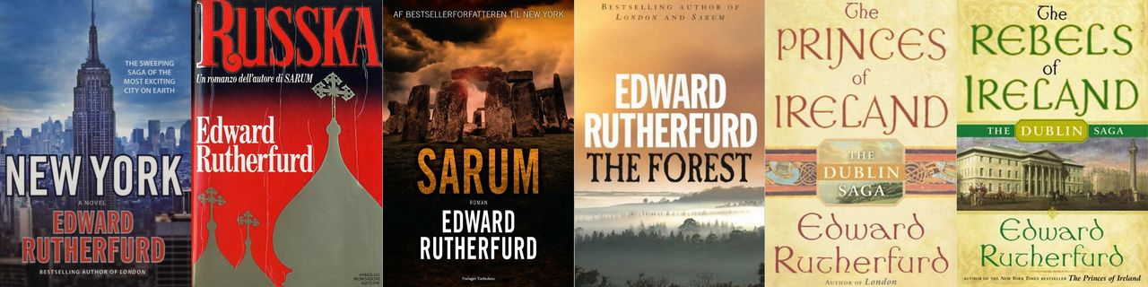 Edward Rutherfurd - Collection