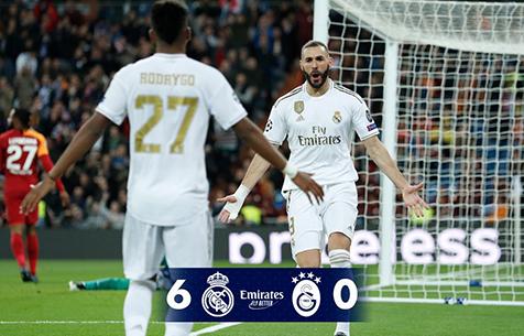 Real Madrid C.F. - Galatasaray Spor Kulübü 6:0
