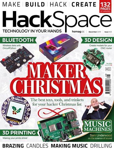 HackSpace Issue 25 (December 2019)