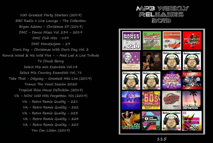 Mp3 Weekly Releases Pack 116 2019