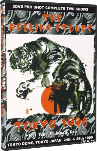 The Rolling Stones - Steel Wheels Tokyo Dome 1990 (2010, 2xDVD5)
