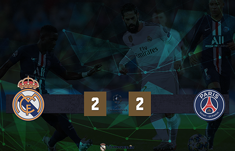 Real Madrid C.F. - Paris Saint-Germain F.C.  2:2