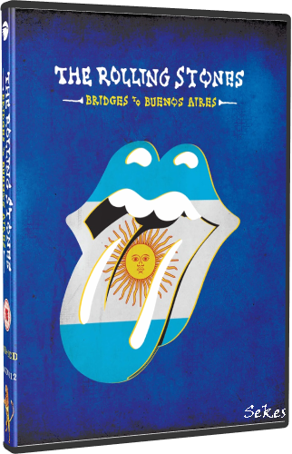The Rolling Stones - Bridges To Buenos Aires (2019, DVD9)