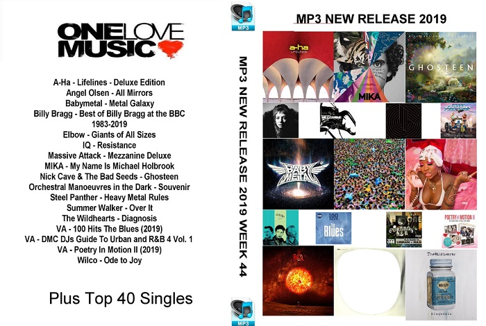 MP3 NEW RELEASES 2019 WEEK 44
