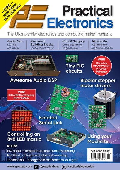 Practical Electronics - January 2020