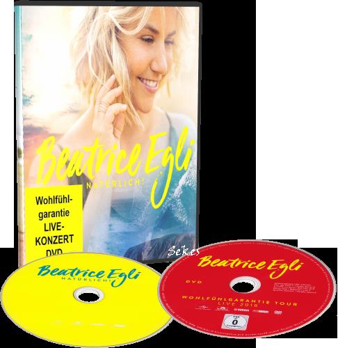 Beatrice Egli - Natürlich! Wohlfühlgarantie (Deluxe Edition) (2019, DVD9)