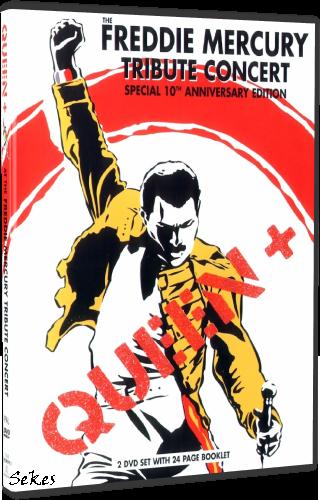 Queen+VA - The Freddie Mercury Tribute Concert (2013, 2xDVD9, DVD5)