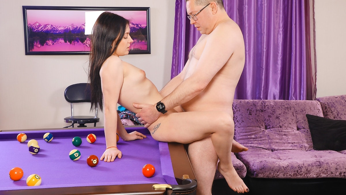 Ellie - Pool lesson opens fresh pussy (2019) SiteRip |