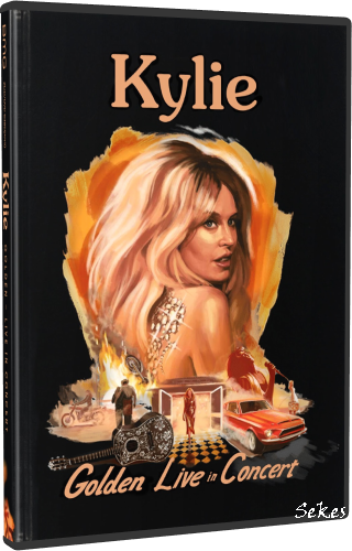Kylie Minogue - Golden Live In Concert Box-Set (2019, DVD9)