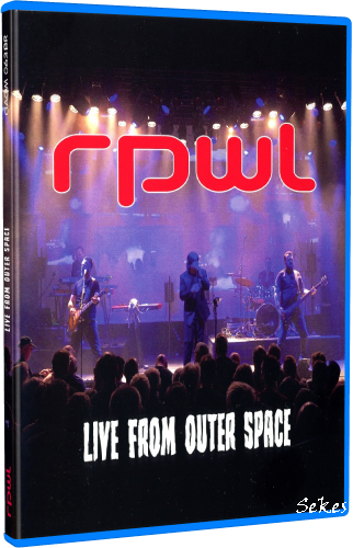 RPWL - Live From Outer Space (2019, Blu-ray)