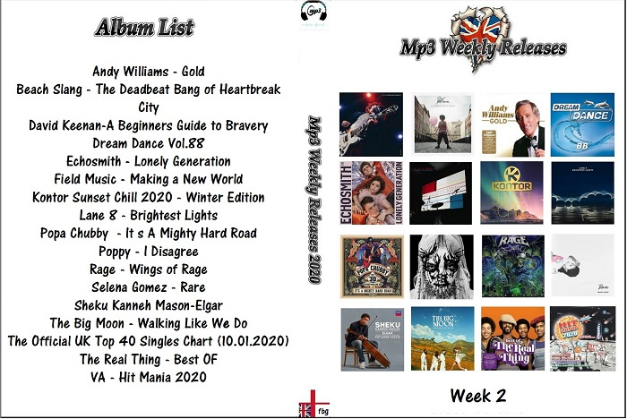MP3 NEW RELEASES 2020 WEEK 02
