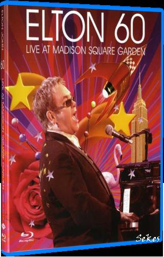 Elton John - Elton 60 Live At Madison Square Garden (2007, Blu-ray)