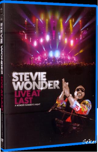 Stevie Wonder - Live at Last (2008, Blu-ray)