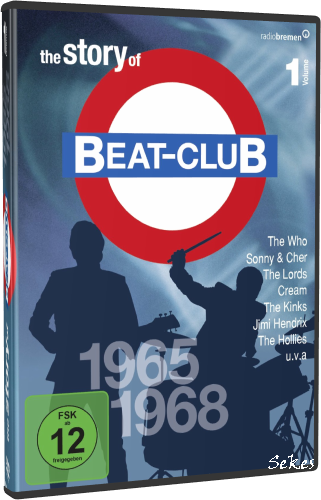 The Story Of Beat-Club Vol.1 1965-1968 (2009, 8xDVD9)