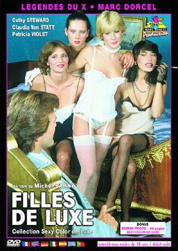 Marc Dorcel - Роскошные девушки / Filles De Luxe (1981) DVDRip |