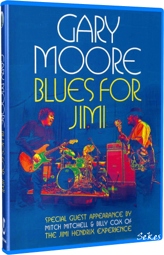 Gary Moore - Blues for Jimi (2007, Blu-ray)