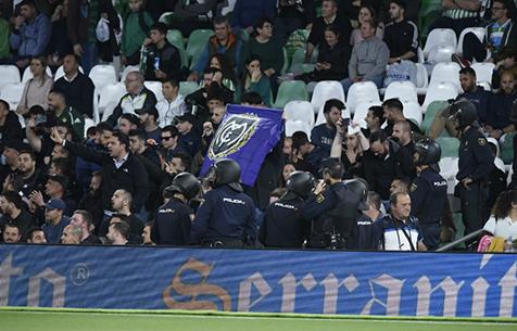 Marca: Полиция выдворила со стадиона представителей Ultras Sur