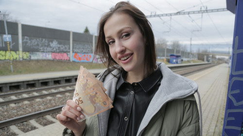 Jessika Night - Train Station Smoker Gets Fucked (2020) SiteRip |