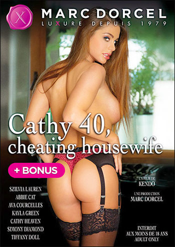 Marc Dorcel - Кэти 40 лет, изменяющая домохозяйка / 40 ans, mariee mais libertine / Cathy 40, Cheating Housewife (2014) DVDRip |