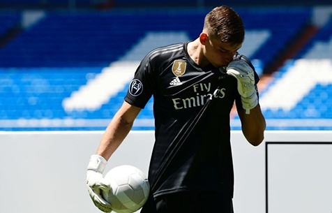 "Лунин: ""Хочу побороться за место основного вратаря ""Мадрида"""