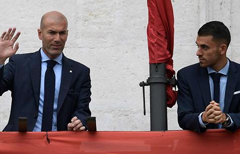 """Себальос: """"Зидан всегда говорил мне, что моё будущее - это """"Реал Мадрид"""""""
